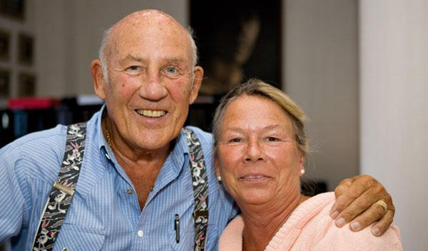 Stirling Moss y su mujer Susie