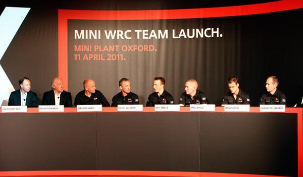 mini wrc team