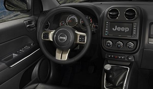 Jeep Compass interior
