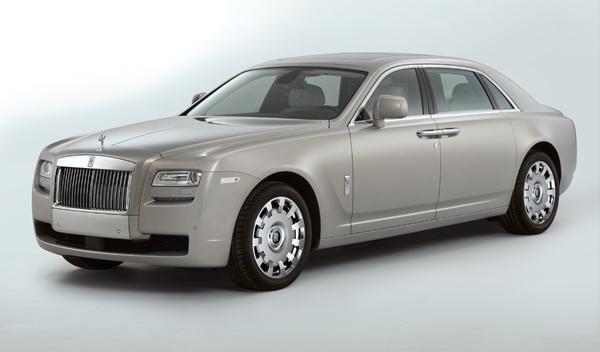 Rolls-Royce Ghost versión extendida