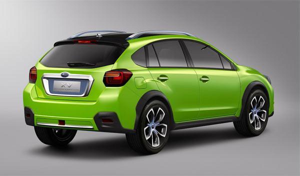 Subaru XV Concept trasera