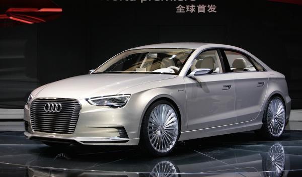 Audi A3 e-tron concept frontal