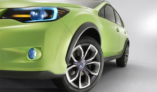 Subaru XV Concept motor