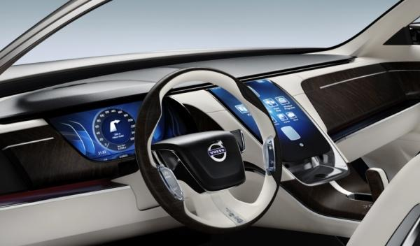 Volvo Concept Universe interior consola central