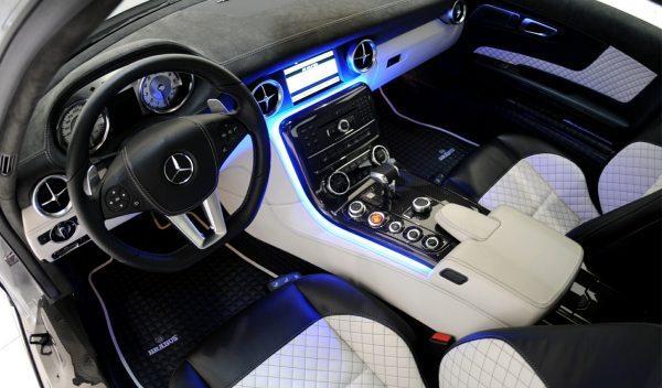 Brabus SLS AMG interior