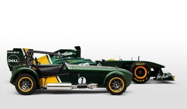 Caterham Seven Team Lotus