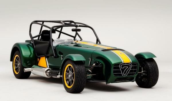 Caterham Seven Team Lotus delantera