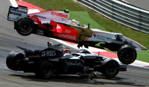 Fisichella/Nakajima-GP Turquía 2008