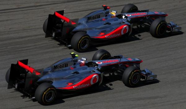 Jenson Button/Lewis Hamilton