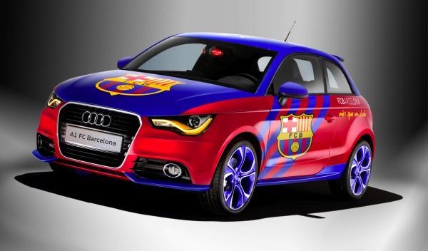 Audi A1 FC Barcelona frontal