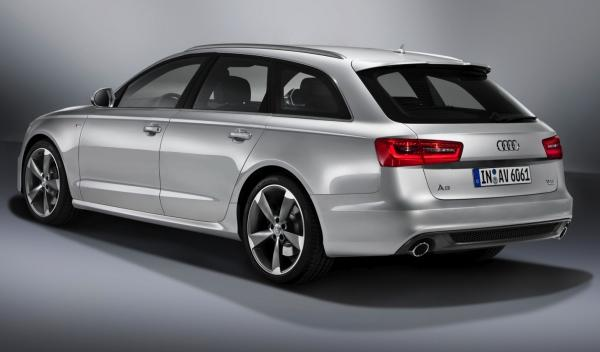 Audi A6 Avant delantera