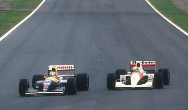 Nigel Mansell/Ayrton Senna-GP España 1991