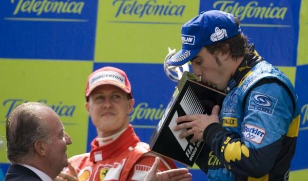 Michael Schumacher/Fernando Alonso-GP España 2006