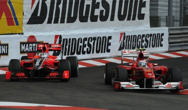 Fernando Alonso-GP Mónaco 2010