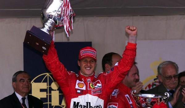 Michael Schumacher-GP Mónaco 2001