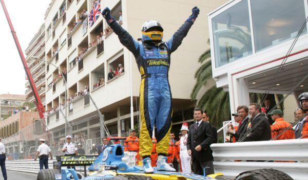 Fernando Alonso-GP Mónaco 2006