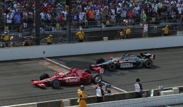 Dario Franchitti-Indy 500 2010
