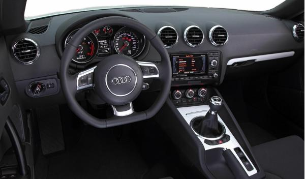 Audi TT Black & White Edition interior