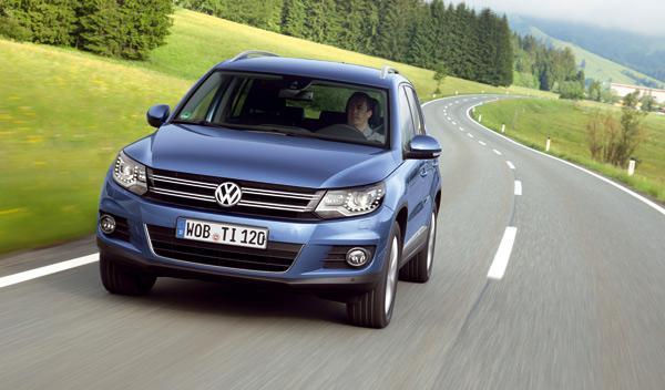 SUV Tiguan frontal Volkswagen nuevo