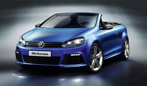 Volkswagen Golf R Cabriolet delantera