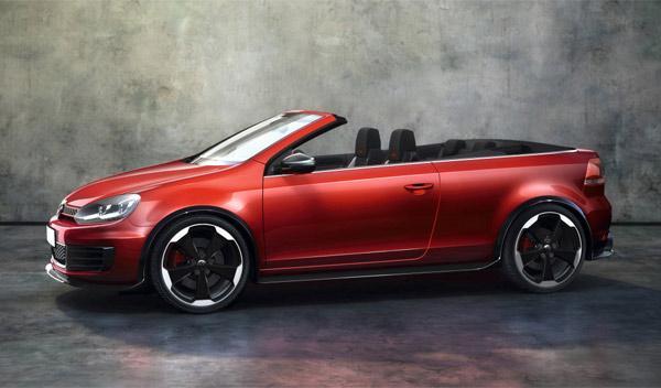 Volkswagen Golf GTI Cabriolet perfil