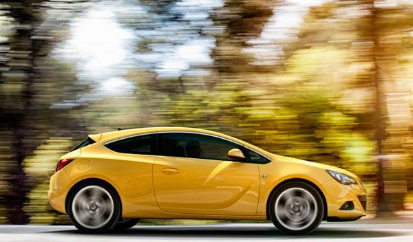Opel Astra GTC perfil