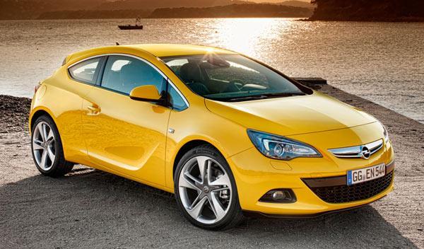 Opel Astra GTC delantera