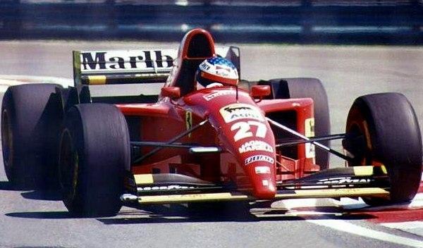 Jean Alesi-GP Canadá 1995
