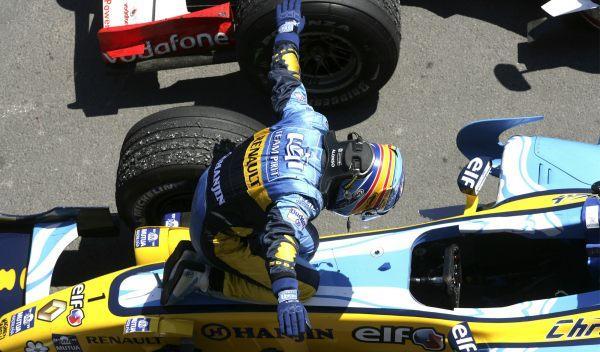 Fernando Alonso-GP Canadá 2006
