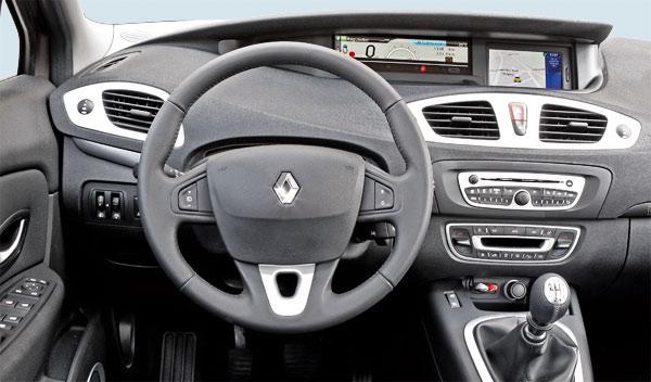 Renault Scénic y Seat Altea XL