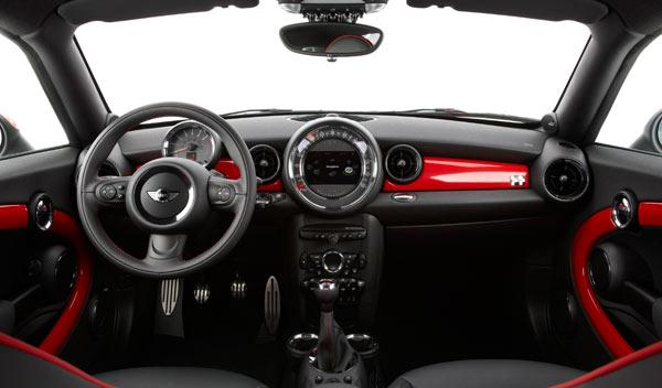 mini coupe interior