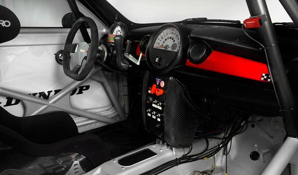 Mini Cooper Works Coupé Endurance interior