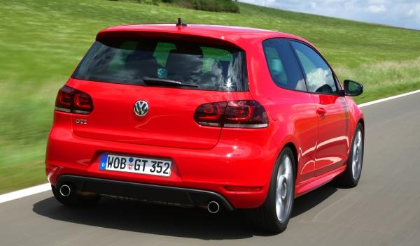 Volkswagen Golf GTI 35 Edition trasera