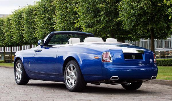 Rolls-Royce Phantom Drophead Coupé trasera