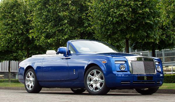 Rolls-Royce Phantom Drophead Coupé frontal