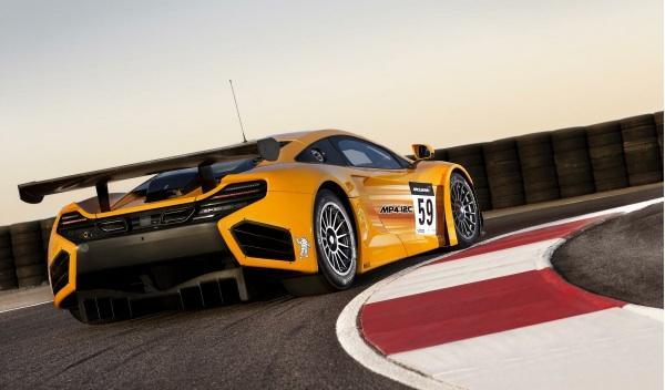 McLaren MP4-12C GT3 trasera