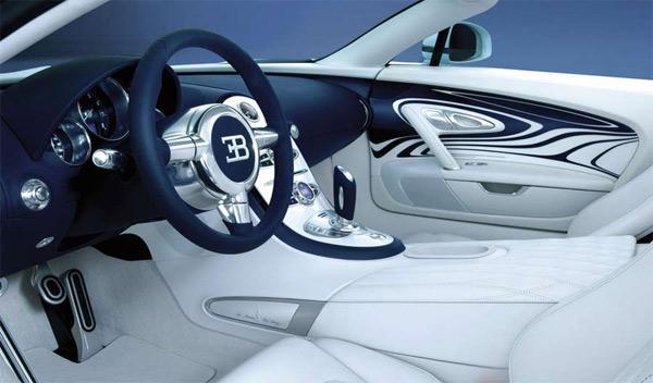 Bugatti Veyron Grand Sport L'Or Blanc interior