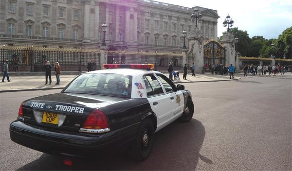 coches de policía americanos