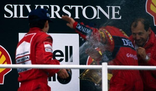 Ayrton Senna/Nigel Mansell/Ron Dennis-GP G. Bretaña 1988