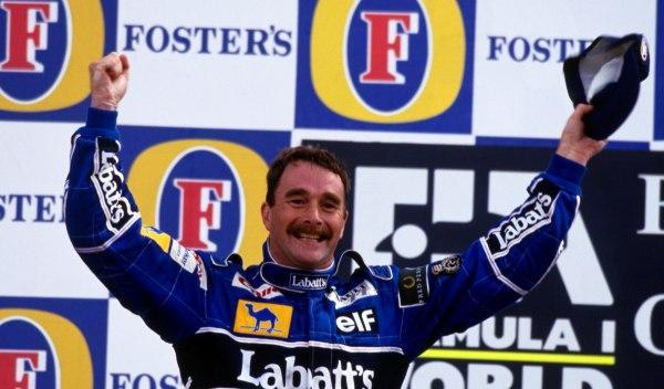 Nigel Mansell-GP G. Bretaña 1992