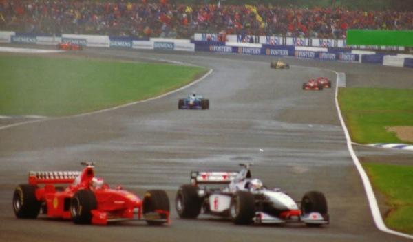 Michael Schumacher/David Coulthard-GP G. Bretaña 1998