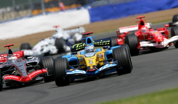 Fernando Alonso-GP G. Bretaña 2006