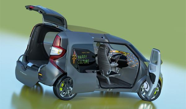 Renault Frendzy puertas