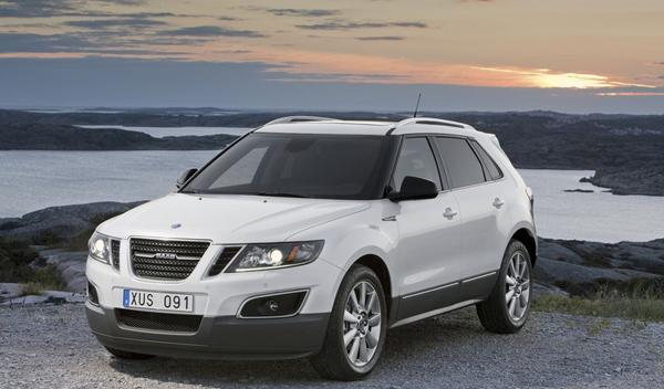 Saab 9-4X frontal y lateral