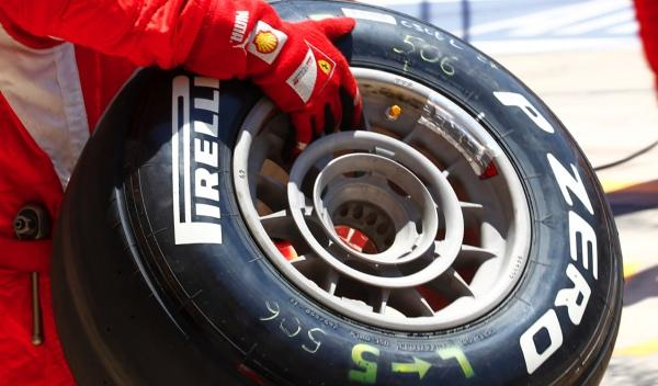 Neumático medio Pirelli
