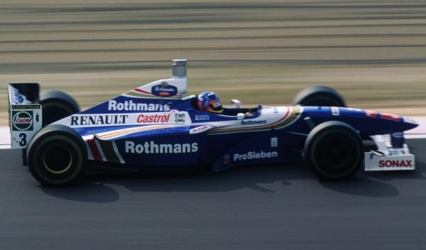Jacques Villeneuve-Williams-Nürburgring 1997