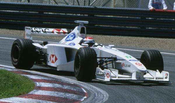Johnny Herbert-Stewart-Nürburgring 1999