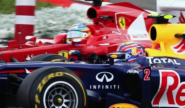 Mark Webber-Fernando Alonso