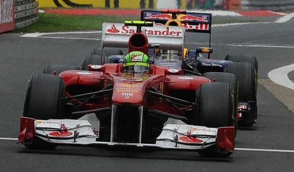 Felipe Massa-Sebastian Vettel