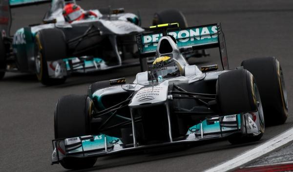 Nico Rosberg-Michael Schumacher